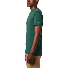 Columbia Maxtrail Logo Short Sleeve Tee Men rain forest